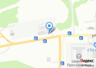Компания «Carex» на карте
