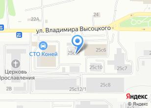 Компания «Пожарная часть №7 МЧС России по Томской области» на карте