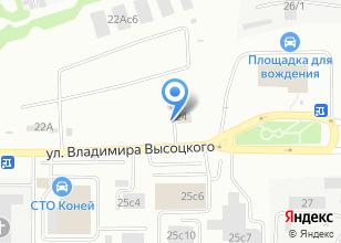 Компания «Авто70» на карте