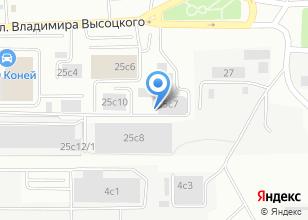 Компания «Кузов70» на карте