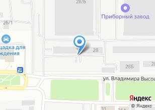 Компания «Витра» на карте