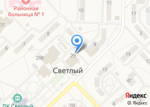 Компания «Центр социальной поддержки населения Октябрьского района г. Томска» на карте