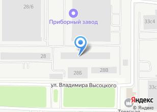 Компания «Аметист-М» на карте