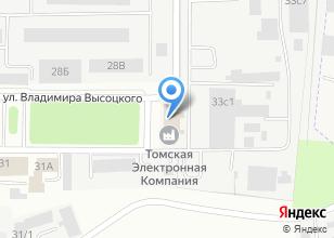 Компания «Томская Электронная Компания» на карте