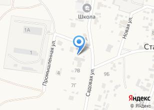 Компания «Магазин продуктов на Садовой» на карте