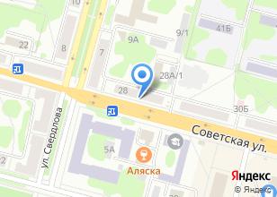 Компания «МИР ЭЛЕКТРОНИКИ» на карте