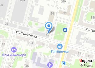 Компания «Информационные спутниковые системы им. академика М.Ф. Решетнёва» на карте