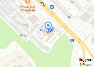 Компания «Золотая стрекоза» на карте