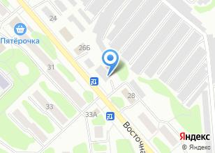 Компания «Барс+» на карте