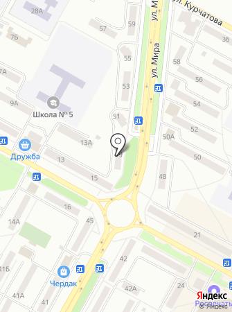 Ермак Братск на карте