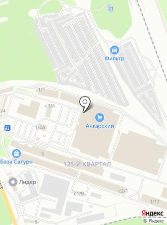 Шторы под ключ на карте