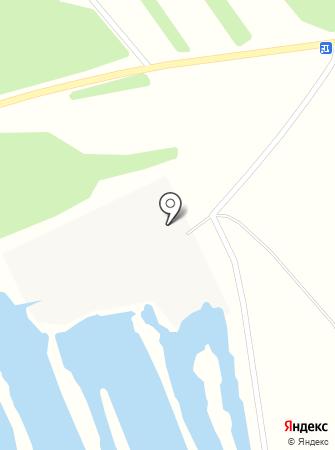 Производство Нерудных Материалов на карте