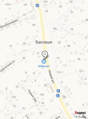 Ника-Вет на карте