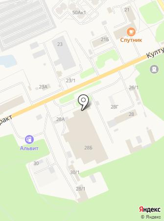 Шинсервис на карте