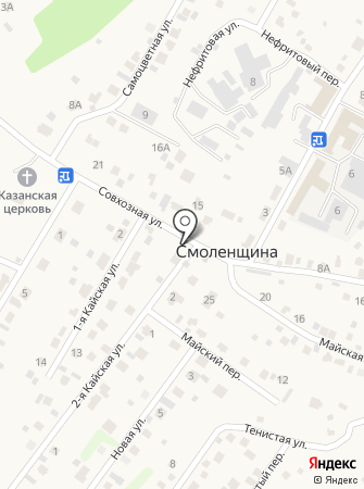 Иркут на карте
