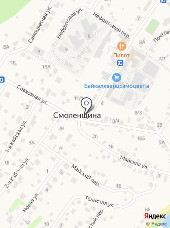 Агросмоленское на карте