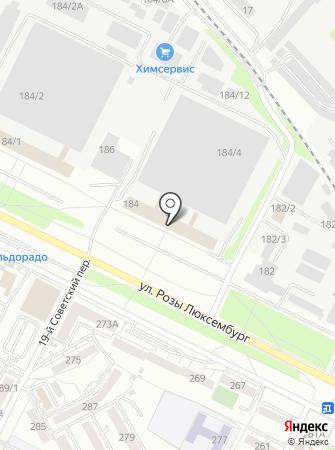Вектор-ЭС на карте
