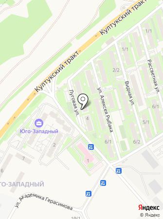 Светоч на карте