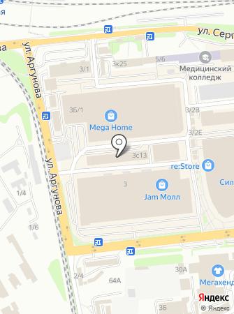 ВостокГрупСтрой на карте