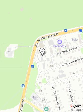 Такси 01 на карте