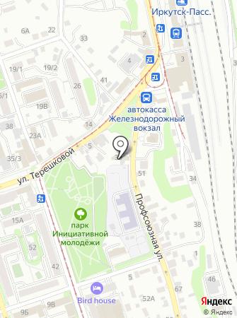 Восток-Промхолод на карте