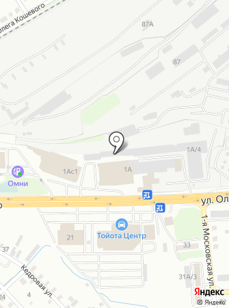 Obess на карте