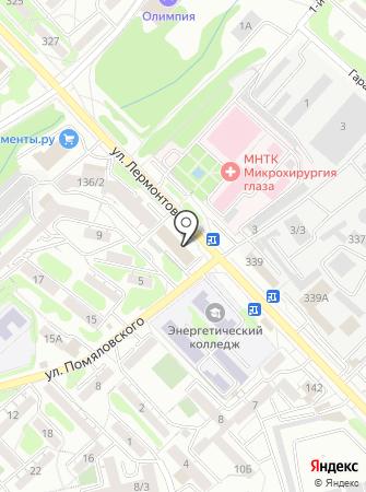 САНАТА на карте