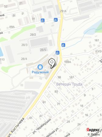 Водопад на карте