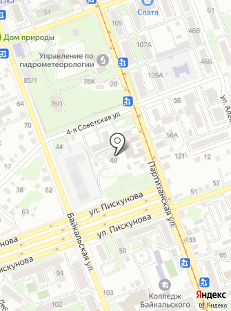 КАН на карте