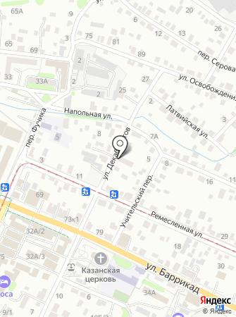 Фабрика торгового оборудования на карте