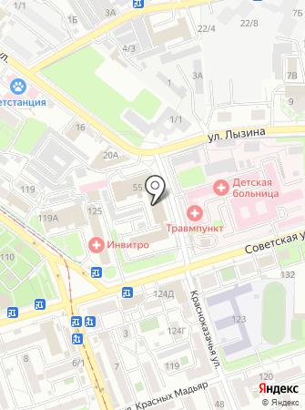 СтартАП на карте