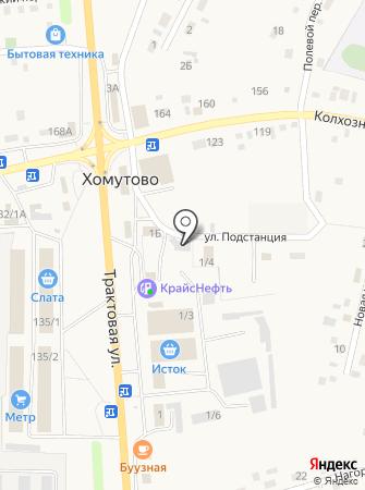 Сладушка на карте