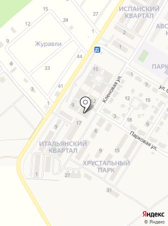Байкальский Форт на карте