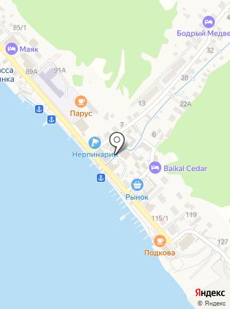 Dream of Baikal на карте