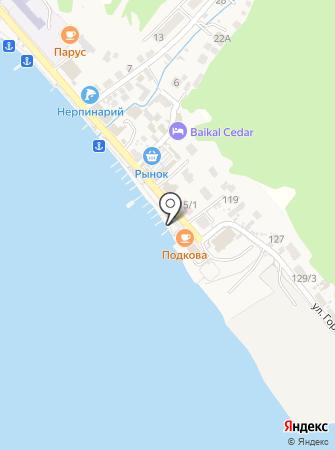 Подкова на карте