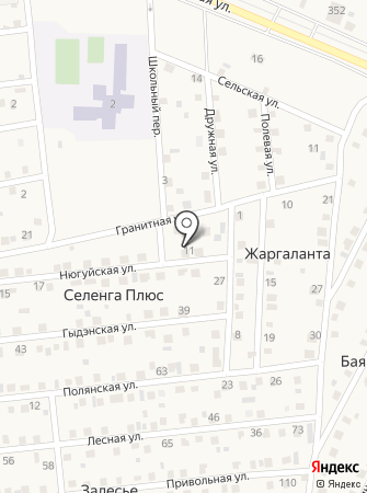 Туяа на карте