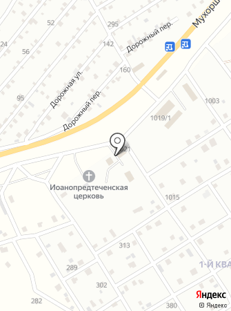 Багульник на карте