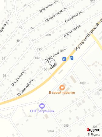 УЛИС на карте