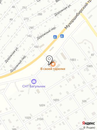 Магазин кормов на карте