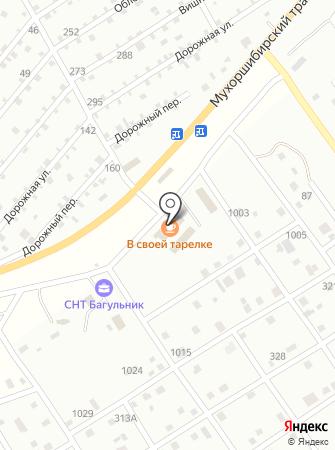 Шурна на карте