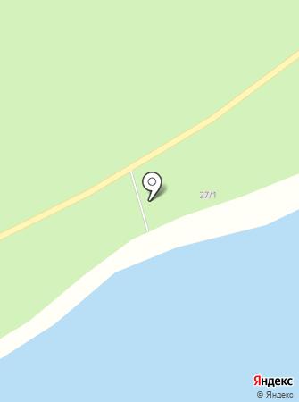 Фламинго на карте