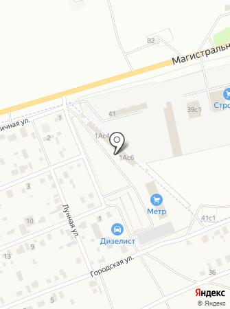 Тутти-Фрутти на карте