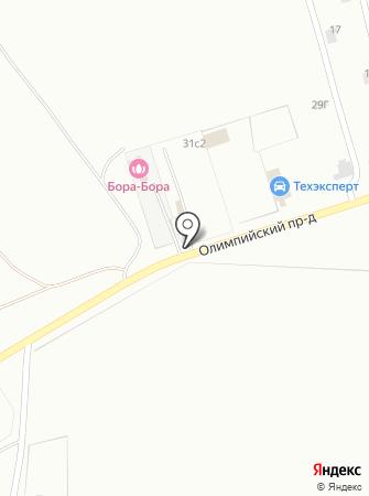 РЕВЕРС на карте