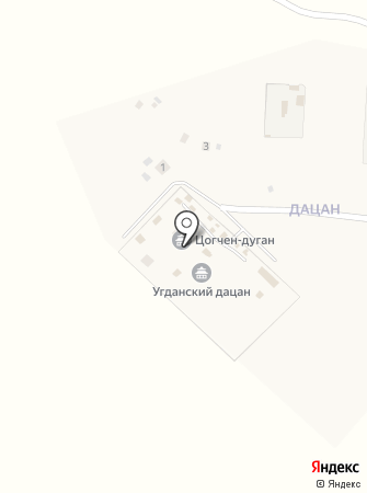 Содномдаржайлинг на карте