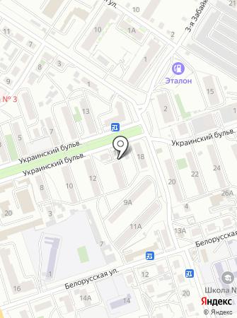 Детская музыкальная школа №4 на карте