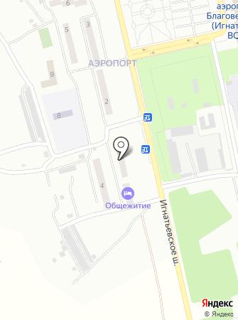 Полёт на карте