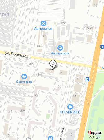 Маз-Авто на карте