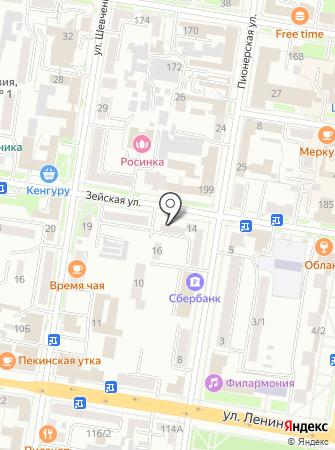 Кабинет массажа на карте