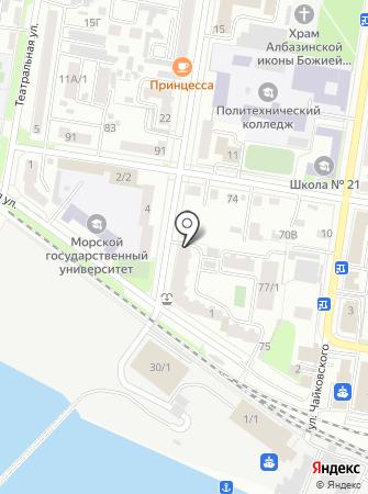 Идея дома на карте