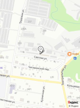 Мобильные грузчики на карте